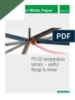Beamex White Paper - Pt100 Temperature Sensor ENG