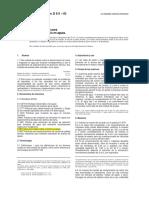 ASTM D 3875, Método Estándar Para Alcalinidad en Agua Salobre, Agua de Mar y Salmueras