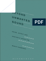 Thompson, Marie-2017-Beyond Unwanted Sound. Noise Affect and Aesthetic Moralism.pdf