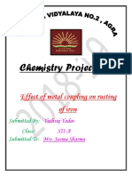 Chemistry Investigatory Project