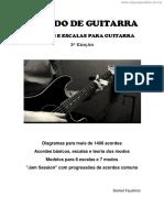 [Cliqueapostilas.com.Br] Acordes e Escalas Para Guitarra
