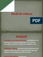 Medii de Cultura (2)