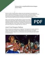 Bangsa Indian Nahua Mexico Modern