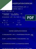 Enzyme Classificn
