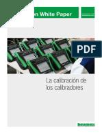 La calibración de los calibradores (eBook)