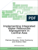 Patricia Wouters, Victor Dukhovny, Andrew Allan - Implementing Integrated Water Resources Management in Central Asia (NATO Science Series_ IV_ Earth and Environmental Sciences) (2007)