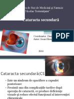 cataracta secundara
