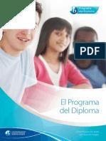 Brochure. El Programa Del Diploma