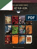 Hal Leonard Play Alongs INDEX