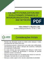 Apresentação Redes e Alianças