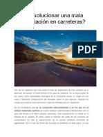 Cómo Solucionar Una Mala Compactación en Carreteras