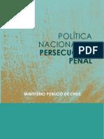 Politica Persecucion Penal