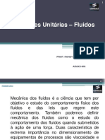 Operações Unitárias -  Fluidos