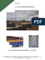 Documentação Técnica Postes
