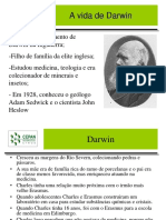 Evolução - Darwin