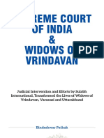 Supreme Court of India Widows Book