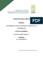 Daviely Transcripcion de Libreta