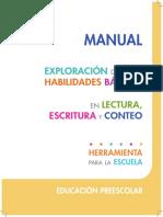 Manual PREESCOLAR Exploración-Habilidades