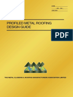 Profiled Metal Roofing Design Guide