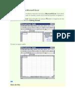 Fereastra de Lucru a Microsoft Excel - Invatare Rapida Cu Imagini