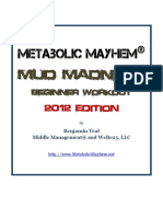 Metabolic Mayhem Mud Madness Workouts 2012