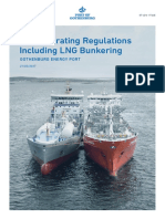 LNG Operating Regulations Including LNG Bunkering