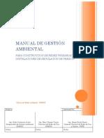 Manual de Gestion Ambiental Redes Primarias e Inst. de Regulacion de Presion