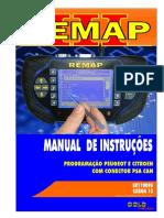 Carga 13 - Sr110090 - Programação Peugeot e Citroen Com Conector Psa Can - Remap III