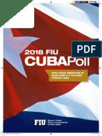 2018 FIU Cuba Poll