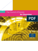 Information about the Council of Europe