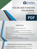 1 Ceros de Una Funcin Polinomial 1