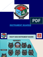 Instrument Board and Panel