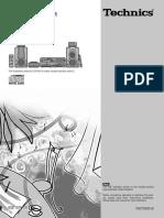 Technics Sc Eh560 Users Manual 359448
