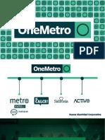 Tarifario OneMetro 2019