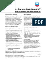PDSD Havoline ATF Full Synthetic Multivehicle Anterior Dexron VI