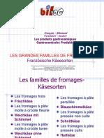 Les Familles de FromagesFDbilv Pwpt