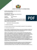 Sentencia Constitucional Plurinacional 1934-2013