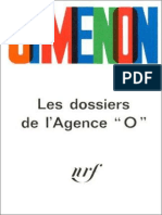 Les Dossiers de l'Agence _O_ - Georges Simenon