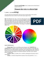Color Basic Vocab