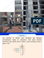 Diapositivas de sobre Columnas