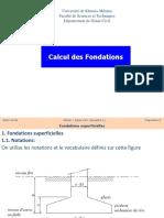 Calcul Fondations(BA M1)