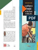Les politiques de l'emploi en Côte d'Ivoire de 1960 à 2015