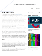 P.I.B. de Bauru – Vivendo Bauru