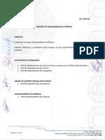 Manual de Procedimiento Compras