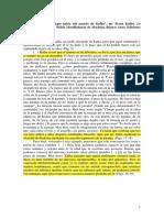 Borges, J.L. Prólogo a La Matamorfosis de F. Kafka