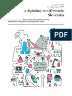 Stratégia digitálnej transformácie Slovenska