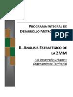 II.6 Desarrollo Urbano y OT