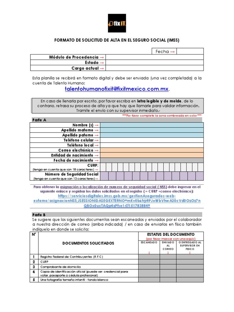 Instructivo Normativo Del Curp Securities Technology