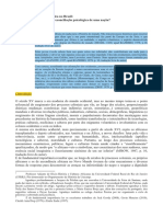 Ensino de Historia e Culturas Afro Brasilerias e Indigenas