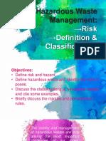 Hazardous Waste Management Ppt